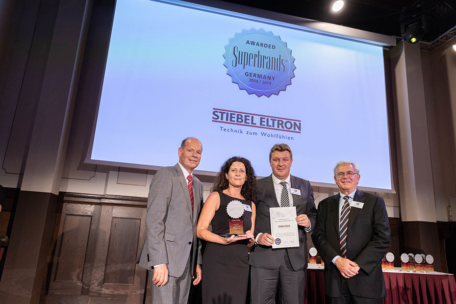 STIEBEL ELTRON is a Superbrand